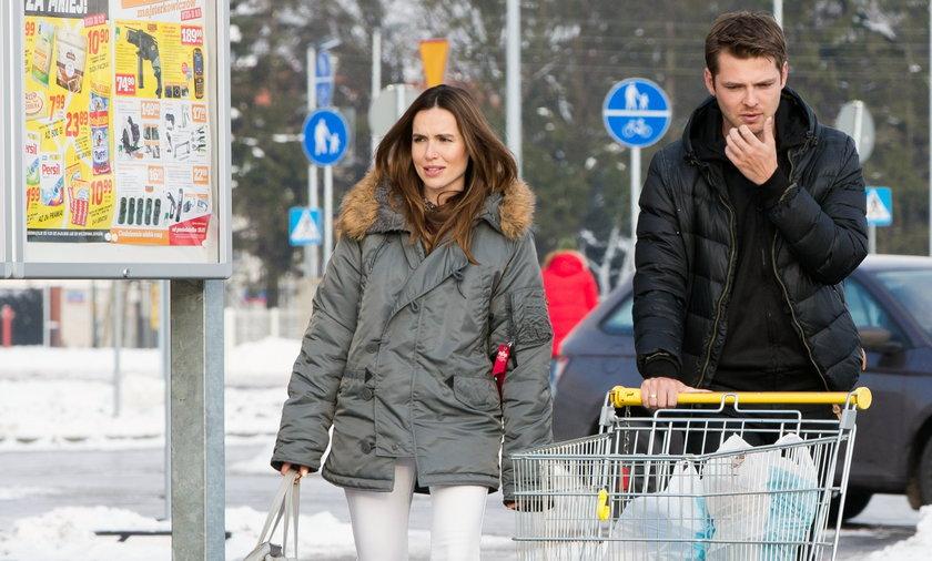 Marta Żmuda Trzebiatowska z mężem