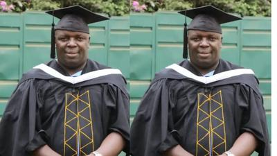 """Man who spent 22 years in primary school & failed one exam 9 times graduates: """"Started in 1989"""""""