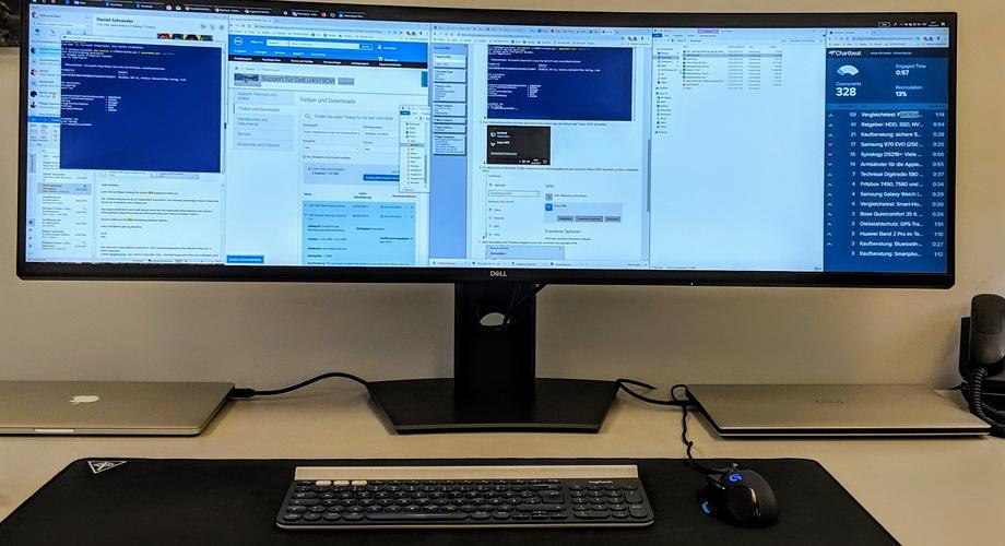 Ergonomie Büro Schreibtisch Monitor