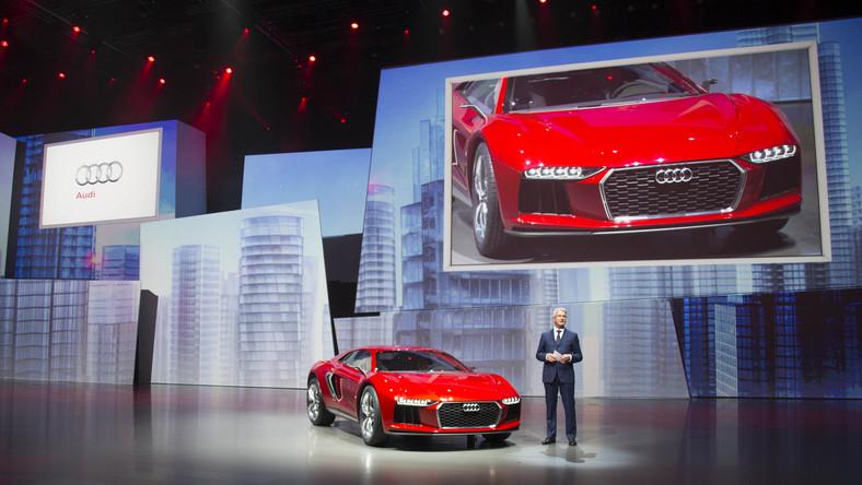 Audi nanuk quattro koncept to prototyp, który inżynierowie niemieckiej marki stworzyli w ścisłej współpracy z projektantami włoskiego Italdesign Giugiaro. Efekt? Delikatnie mówiąc - może budzić skrajne emocje…