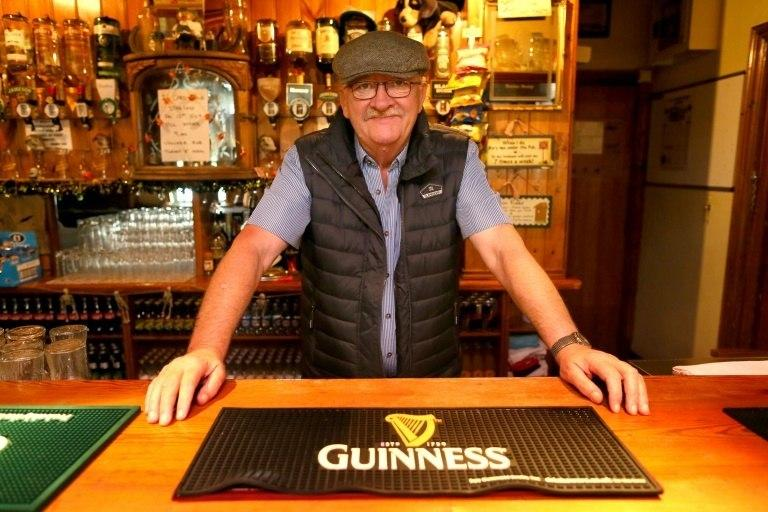 John Fearon said he feared that any uptick in price could have already hard-up drinkers up in arms at his pub The Gap O' the North in Northern Ireland