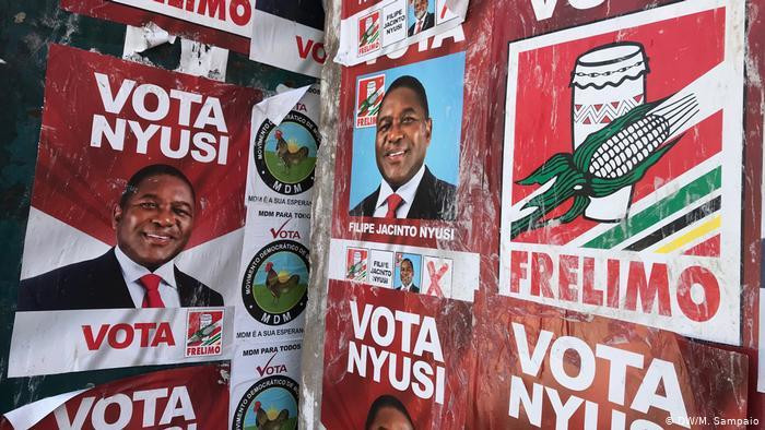 Mozambique election will take place on 15 October. (DW)