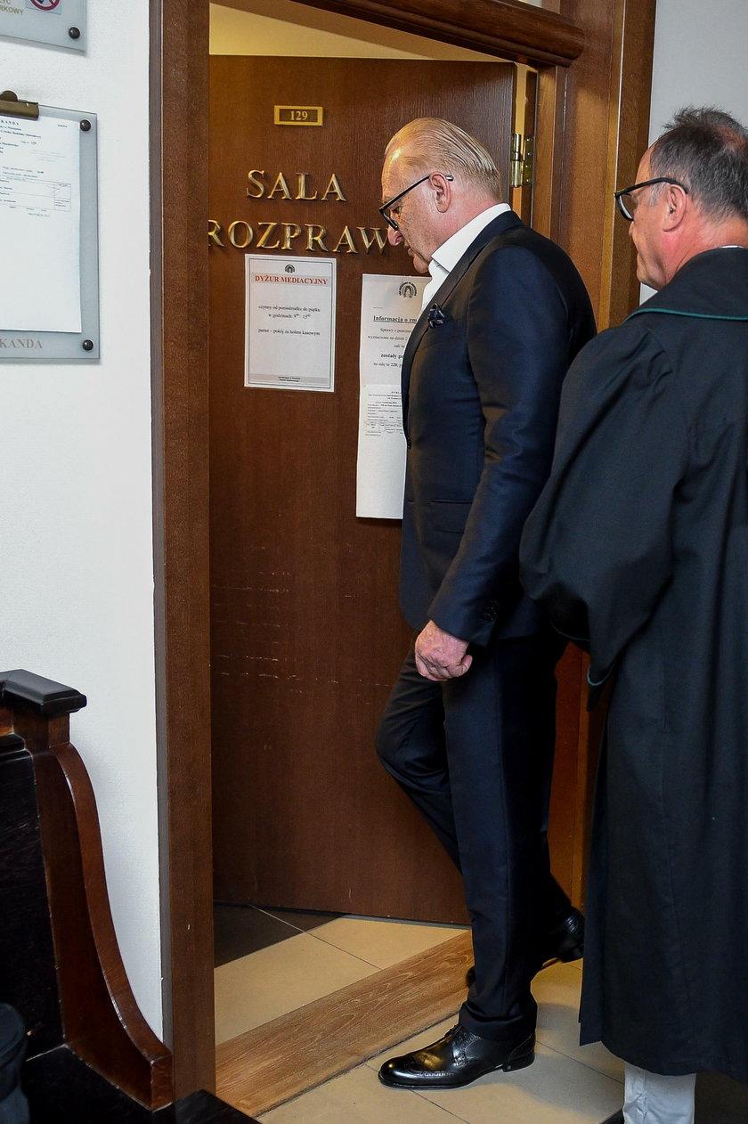 Andrzej Dużyński w sądzie