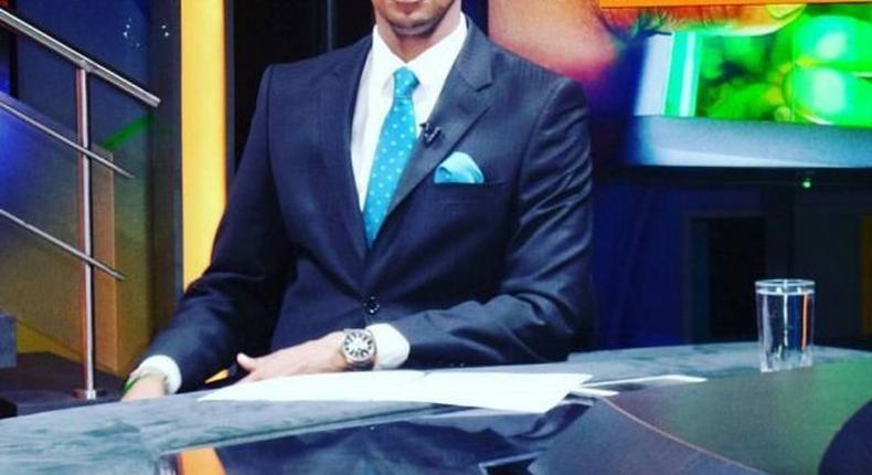 Citizen TV journalist Waihiga Mwaura