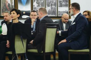 Spotkanie marszałka Senatu z dziennikarzami: Do 6 stycznia przedstawimy nowe propozycje ws. pracy w Sejmie