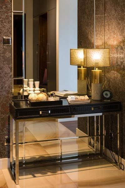 Bursztynowy apartament w Rzeszowie - styl nowoczesny w przytulnej odsłonie. Rewelacyjny efekt