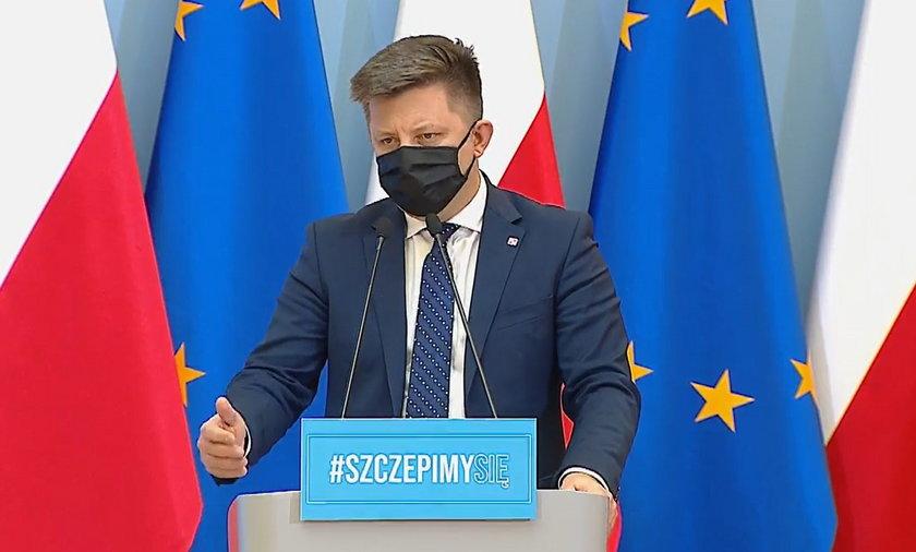 Na zdjęciu Michał Dwoczyk.