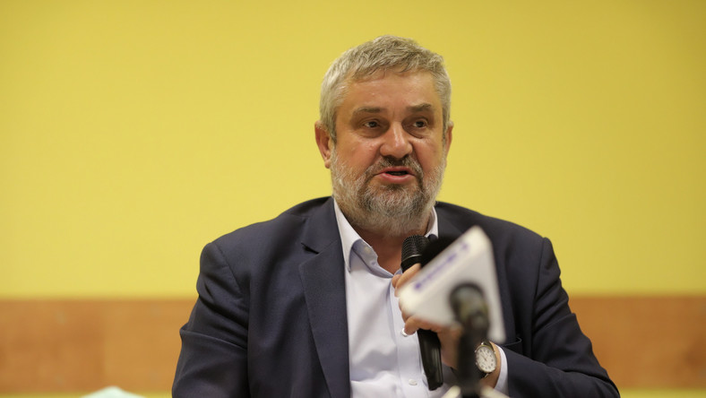 Minister rolnictwa i rozwoju wsi Jan Krzysztof Ardanowski