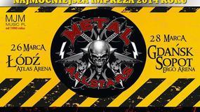 Metal All Stars: koncerty w Gdańsku i w Łodzi odwołane