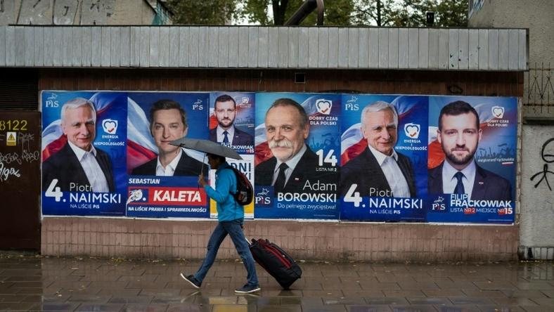 Sunday's election sees Poland's governing conservative Law and Justice (PiS) party set for a win, though its majority is at risk, while its opposition to EU migration quotas has hit relations with Brussels