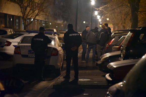 Uviđaj u Ulici Narodnih heroja na Novom Beogradu