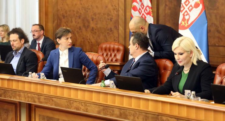 Sednica Vlade Srbije, Ministri