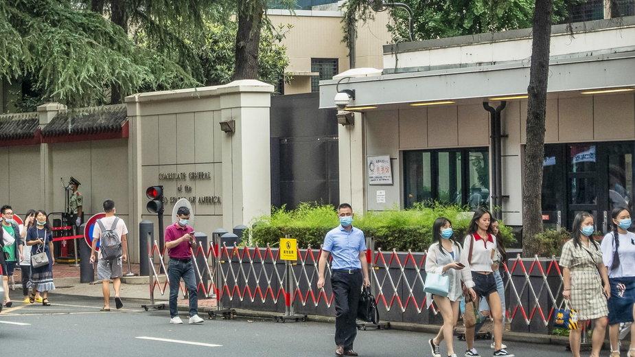 Amerykański konsulat w Chengdu