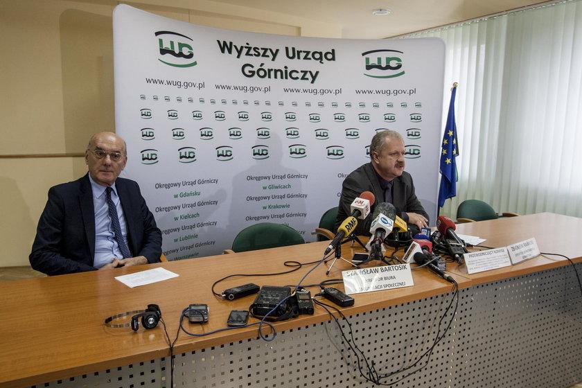Jastrzębie Zdrój. Komisja WUG bada przyczyny wypadku w Zofiówce