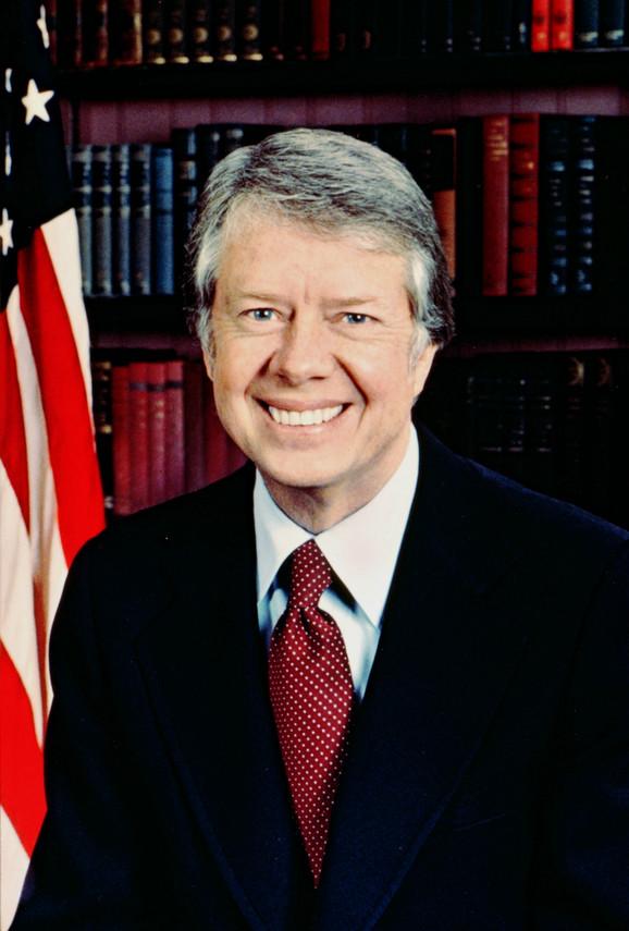 Džimi Karter iz predsedničkih dana