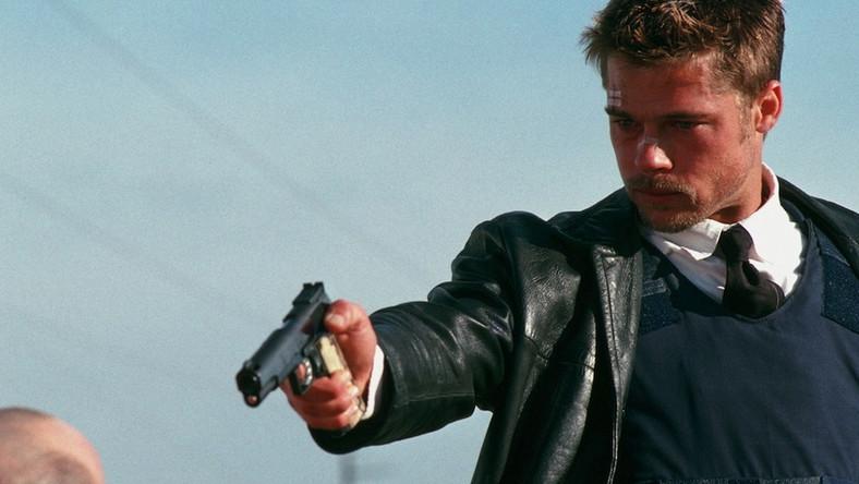 """Brad Pitt w kultowym """"Siedem"""""""