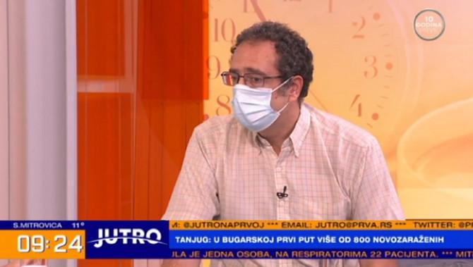"Dr Srđa Janković u ""Jutru"" na TV Prva"