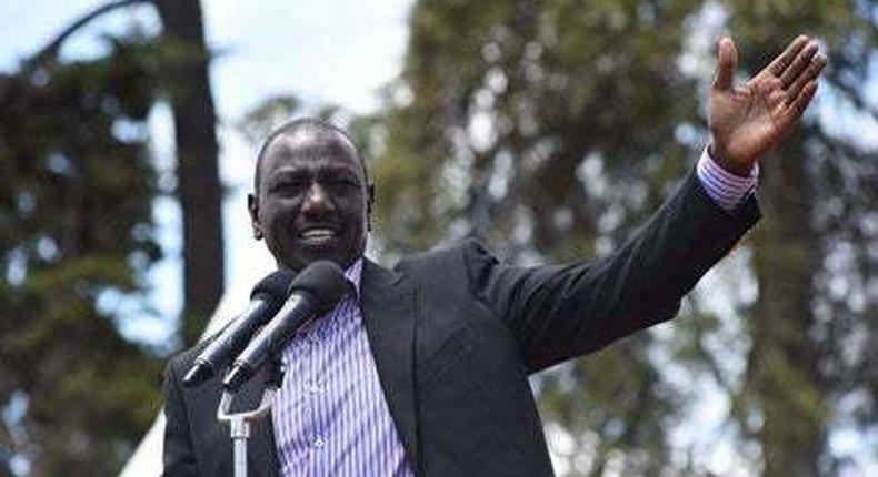 File image of Deputy President William Ruto. Si angekimbia Hague - DP Ruto responds to Governor Alfred Mutua threat claims