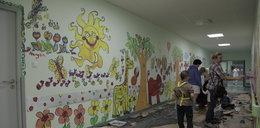 Dzieci mają malowniczy szpital
