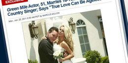 51-letni aktor poślubił 16-latkę!