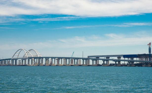 Most zbudowany przez Rosję po aneksji Krymu