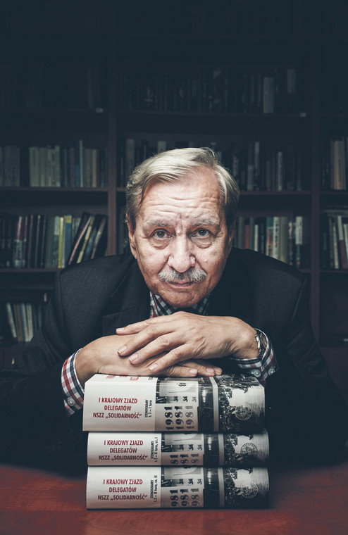Jerzy Eisler historyk, profesor nauk humanistycznych, dyrektor Oddziału Instytutu Pamięci Narodowej w Warszawie