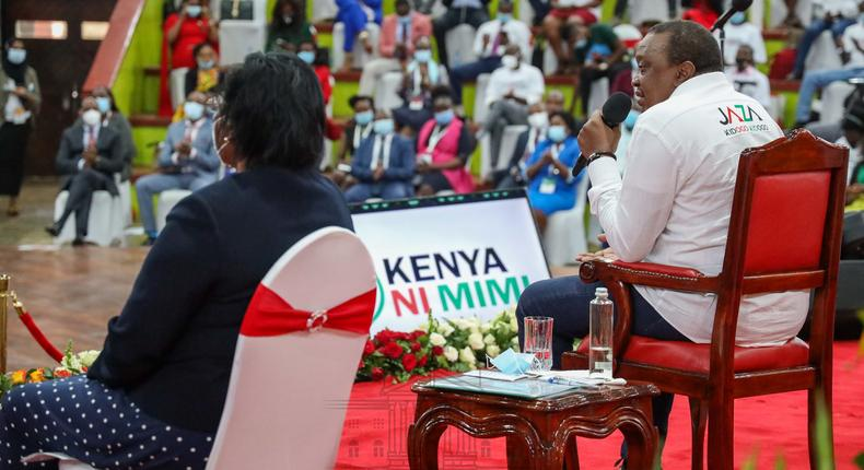 I'm not trying to Militarize the country – Uhuru