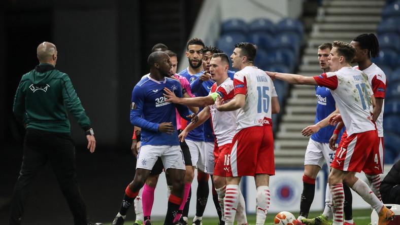 Awantura podczas meczu w Glasgow