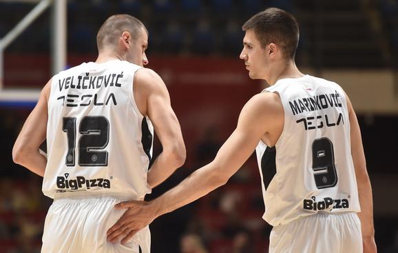 Novica Veličković i Vanja Marinković
