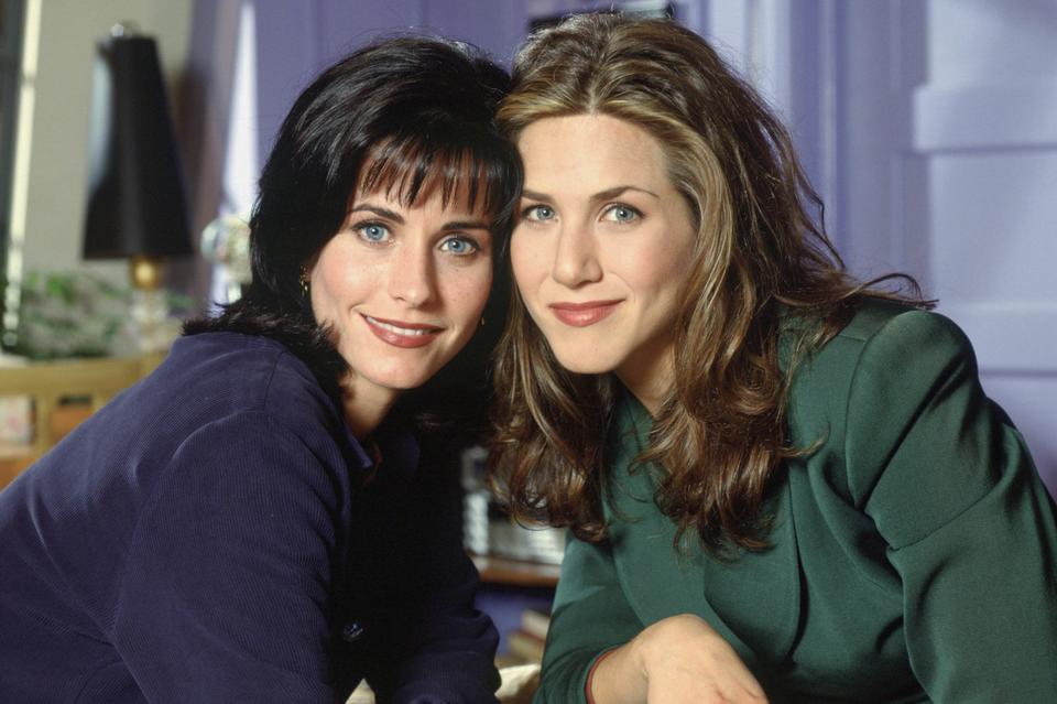 """BONUS: Monica i Rachel, serial """"Przyjaciele"""", lata 1994-2004"""
