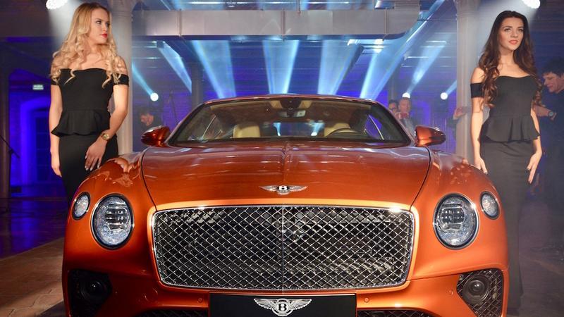 Bentley Continental GT – premiera w Polsce