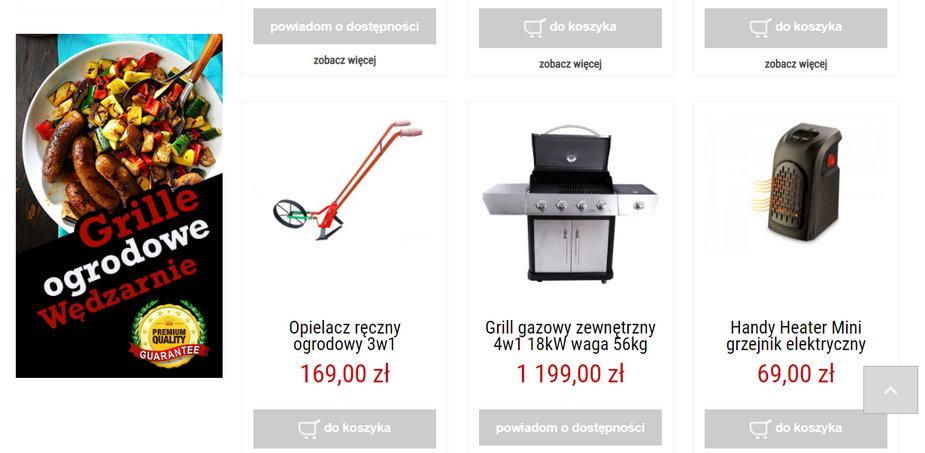 oferta sprzedawcy kompasy