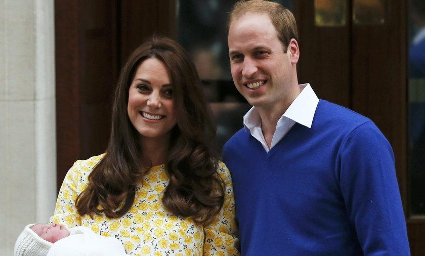 Księżna Kate, Książę William, córka, dziecko