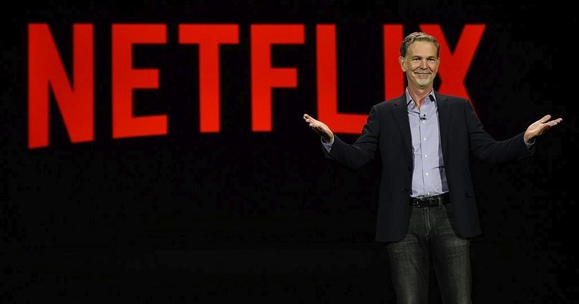 Reed Hastings, CEO Netfliksa, ma powody do zadowolenia