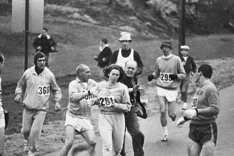 First Women in Boston Marathon