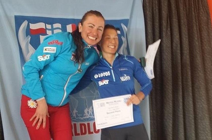 Justyna Kowalczyk i Sylwia Jaśkowiec po zawodach w Nowej Zelandii