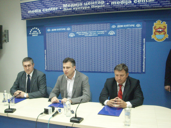Vladica Tošić, Vladan Vasić i Vidojko Panajotović