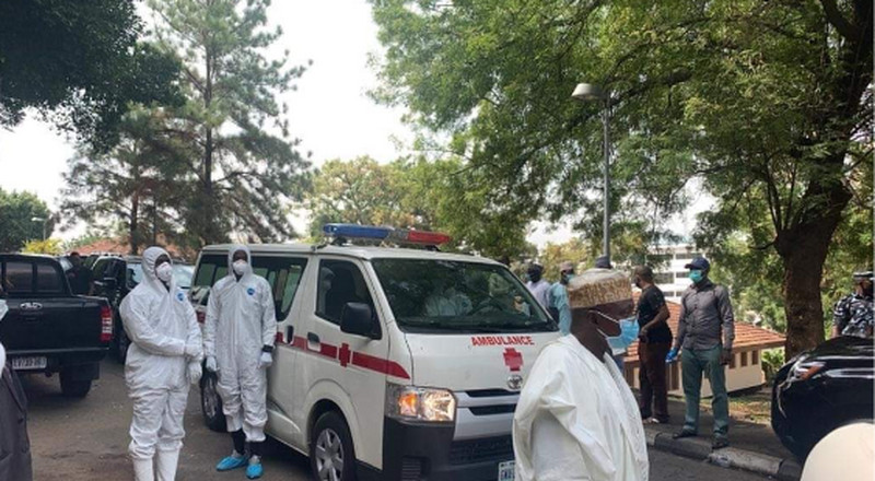 Presidency says there'll be no condolence visits as Abba Kyari's body arrives Abuja
