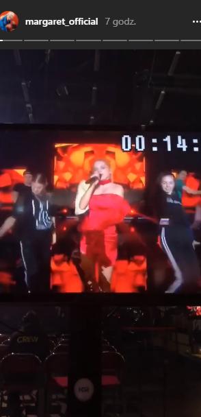 Margaret pokazała pośladki na próbie do szwedzkiej Eurowizji