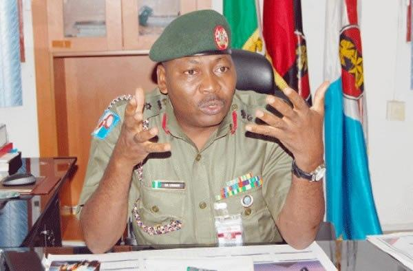 Acting Director, Army Public Relations, Col. Sani Usman (The Nation)