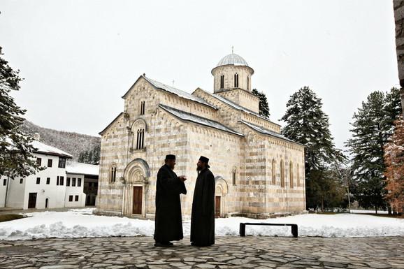 Manastir Dečani na Kosovu i Metohiji