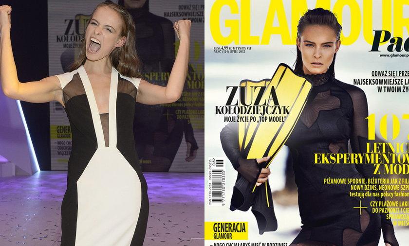 """Taka była Zuza w """"Top Model"""""""