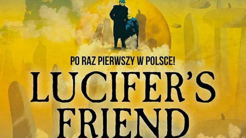 Lucifer's Friend w Polsce - plakat koncertowy