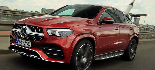 Mercedes GLE Coupe 400d - coupe na szczudłach