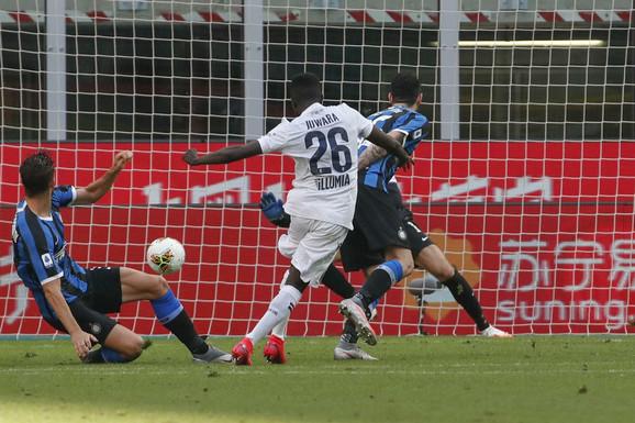 Detalj sa meča Inter - Bolonja