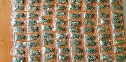 Marihuana w tornistrze. Wpadka szkolnego dilera