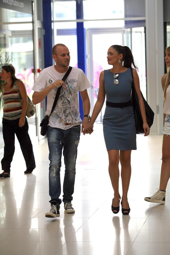 Jovana i Danijel za vreme ljubavi