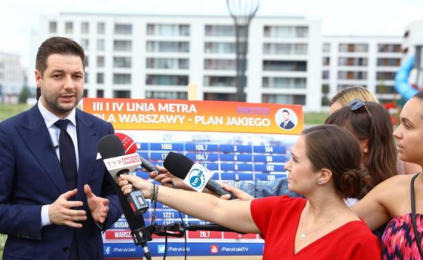 """""""Chciałem podjąć wielkie zobowiązanie, że jak zostanę prezydentem m.st. Warszawy, to powstańcy będą traktowani w sposób wyjątkowy, tak jaki na to już dawno zasługują"""" - powiedział Jaki."""