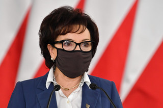 Witek zapowiedziała zmniejszanie ograniczeń w Sejmie wprowadzonych wz. z pandemią