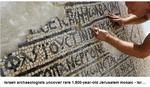 PRONAĐEN ANTIČKI MOZAIK Radnici postavljali kablove pa iskopali ISTORIJSKO BLAGO